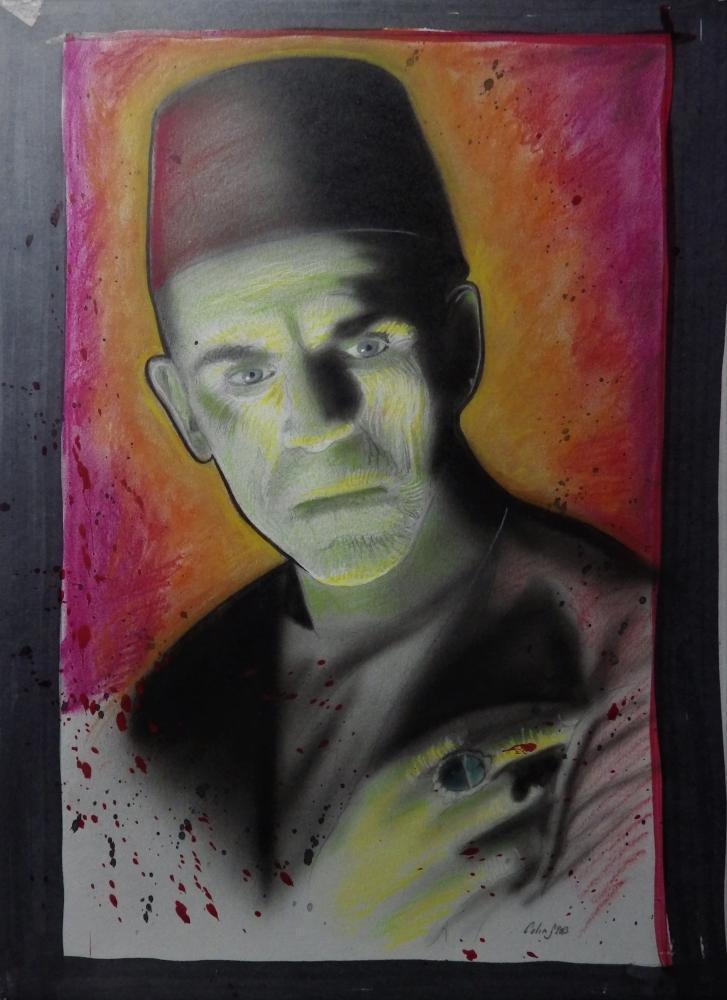 Boris Karloff by stephane014